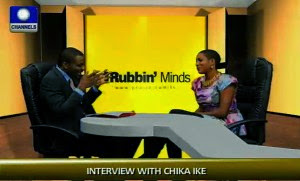 Chika Ike at Channels Tv
