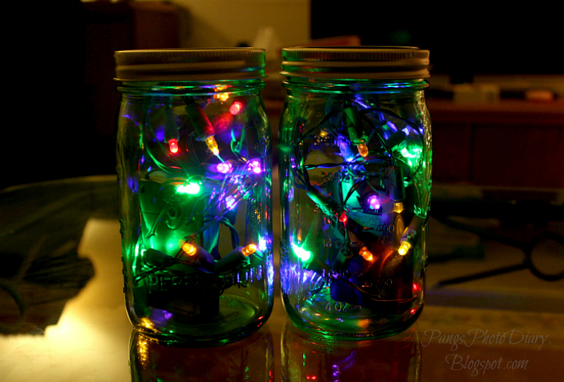 Decorate Mason Jars For Christmas