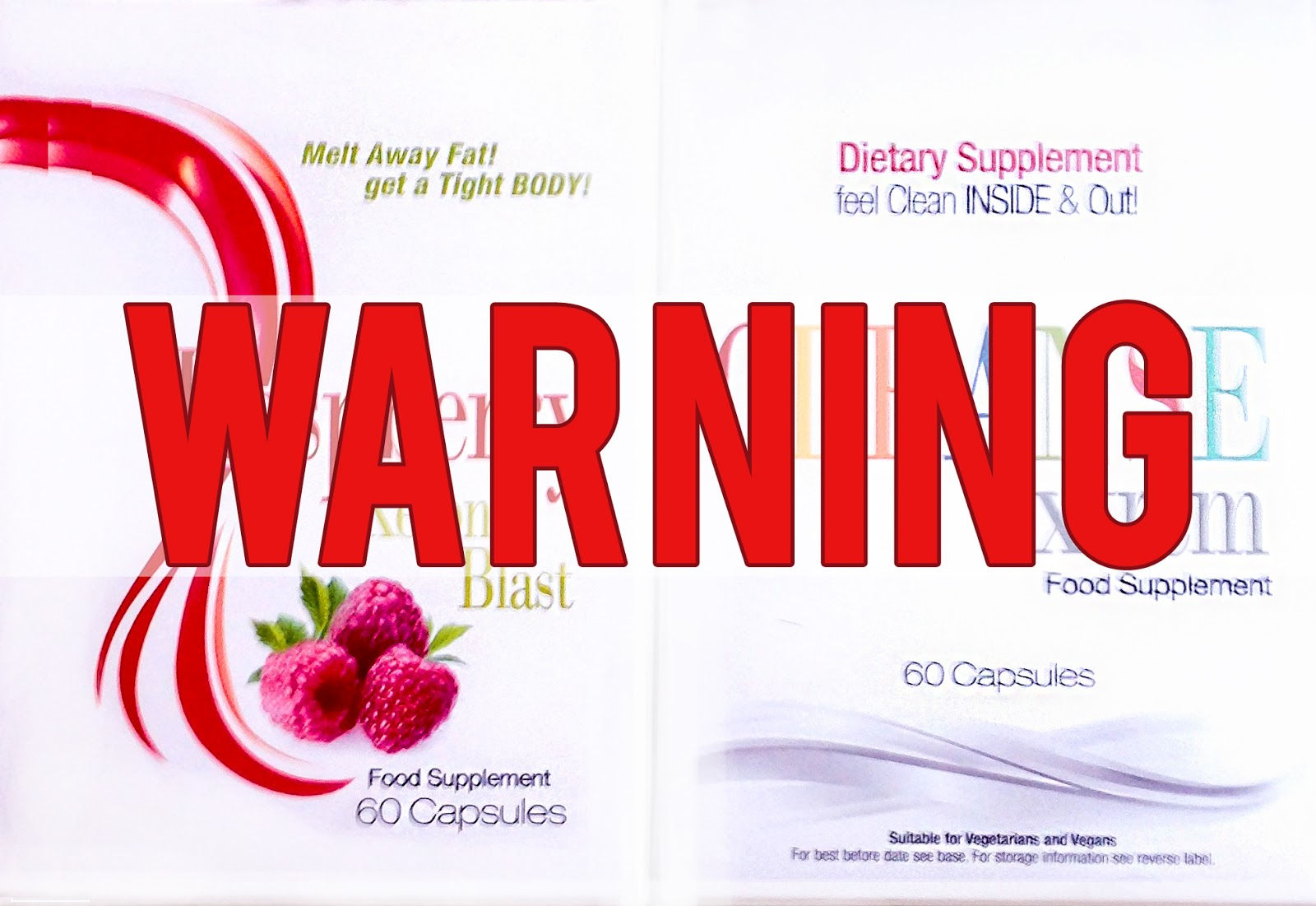 warning do not buy raspberry ketone or cleanse xtrem - Ultra Pur Ketone Avis