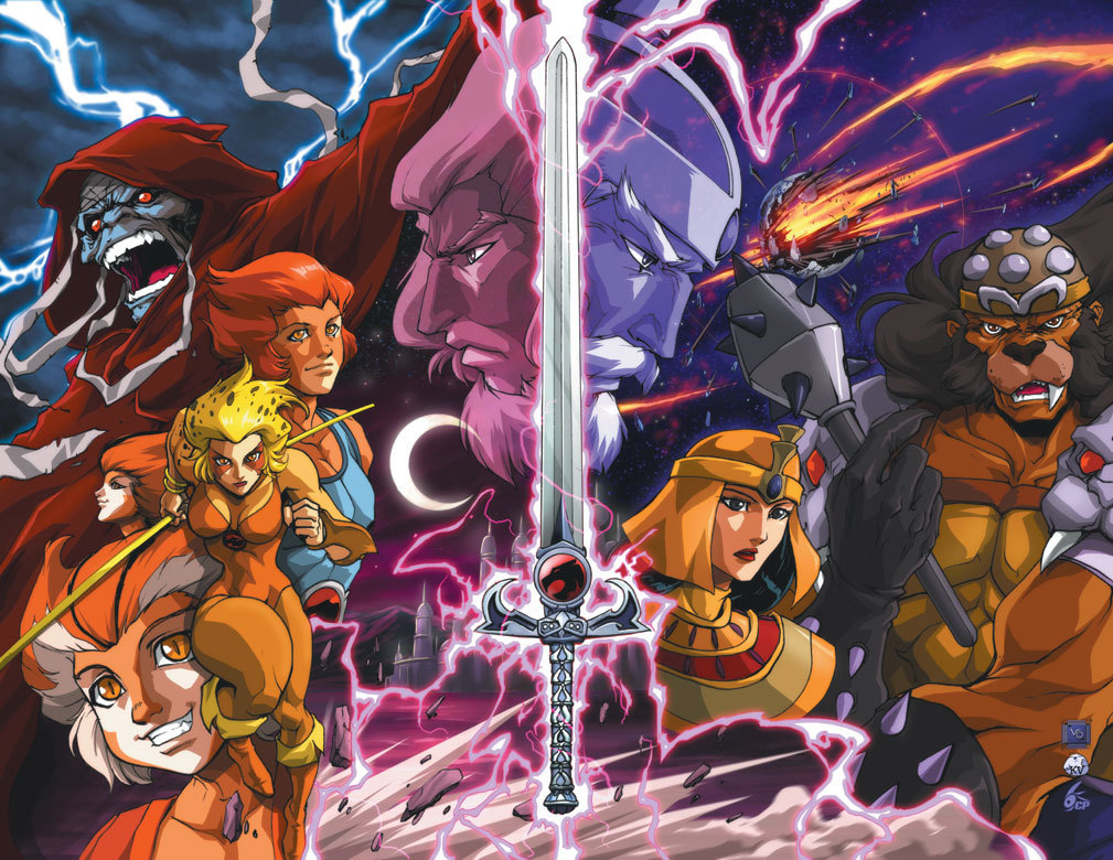 Thundercats Cartoon Wallpaper