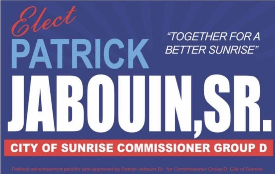Help Elect Dr Patrick Jabouin Sr