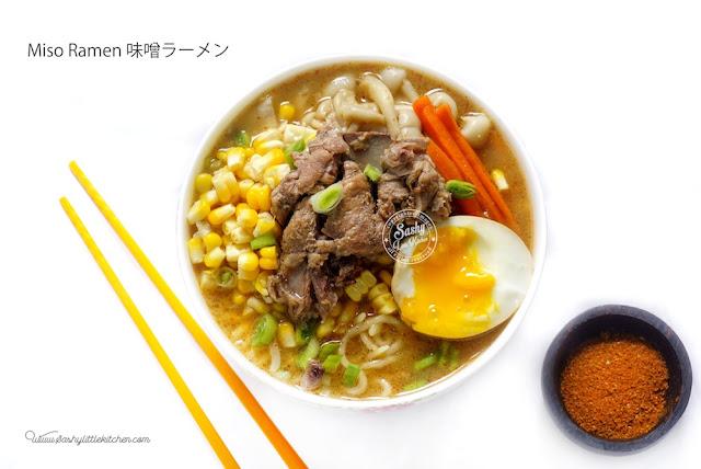 Resep Miso Ramen