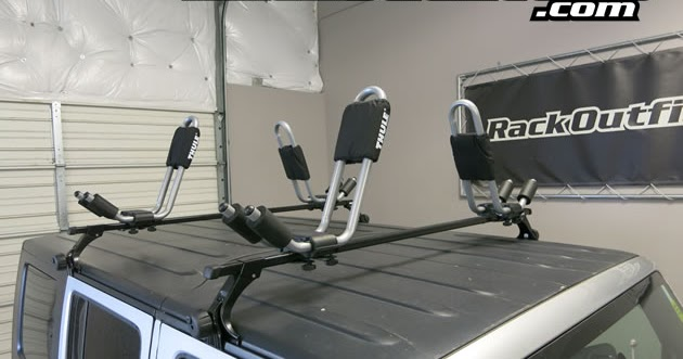 Rack Outfitters: Jeep Wrangler Unlimited Thule Square Bar ...