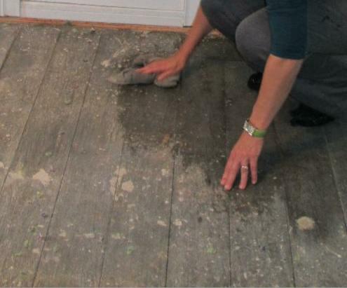 Kammys Korner Stenciled Floors How To