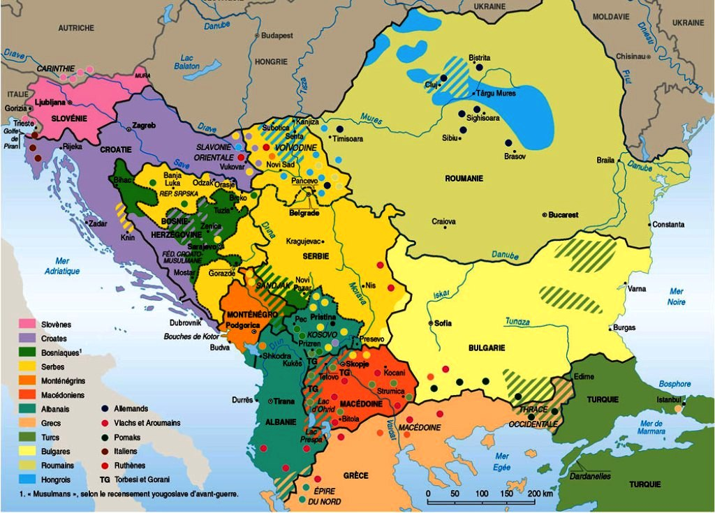 Languages of Europe – Map of Europe Today