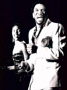 Pops & I at London gig 1989