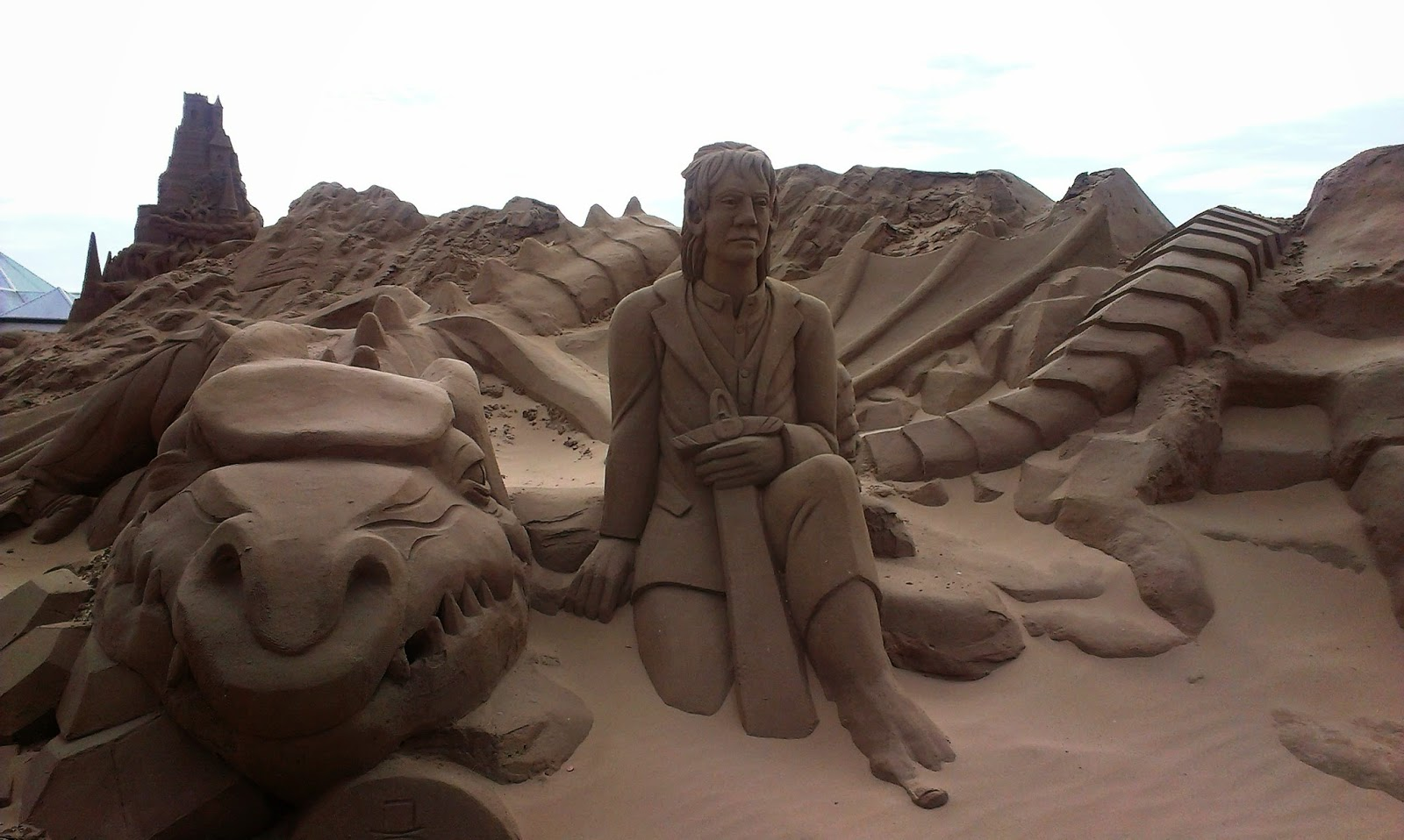 Weston Super Mare Sand Sculpture Festival