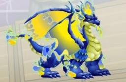 imagen del blue fire dragon