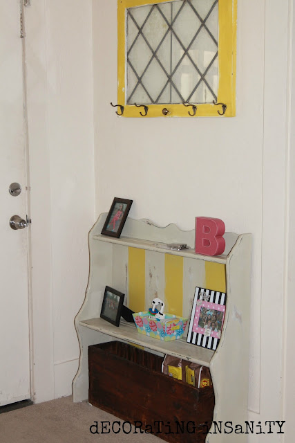 shabby chic hutch redo