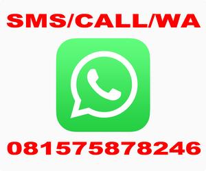 SMS/ CALL/ WA