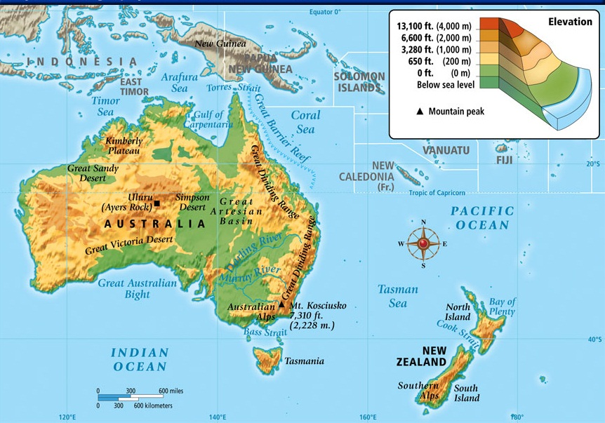 Gambar benua Australia ...