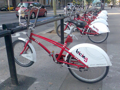 Barcelona bicing