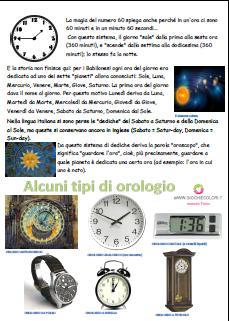 storia dell orologio per bambini