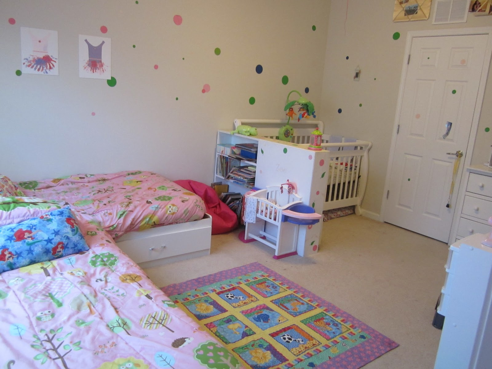 Someone Imperfectly Me Shared Sibling Bedroom 2 Older Girls Baby Boy