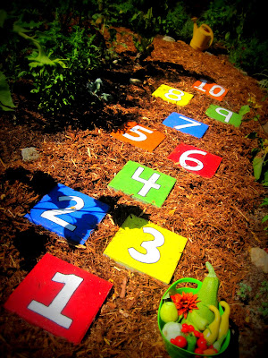 How to Create Hopscotch Stepping Stones for Your Garden