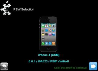 JB iOS 6 Sn0wBreeze