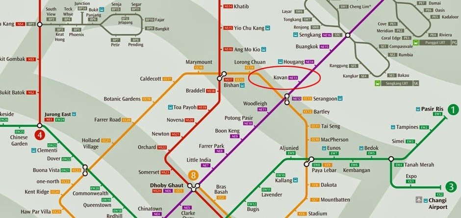Trilive Condo Kovan - Near To Kovan MRT! (Former Yi Mei Garden