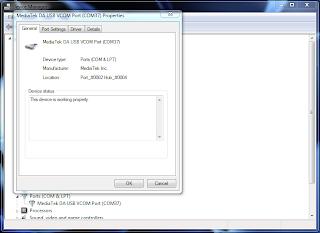Cara update firmware Vandroid T3i
