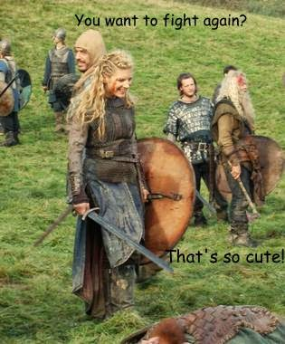 Shield Maiden Humor