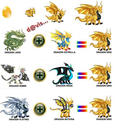 Como obtener Dragón Oro