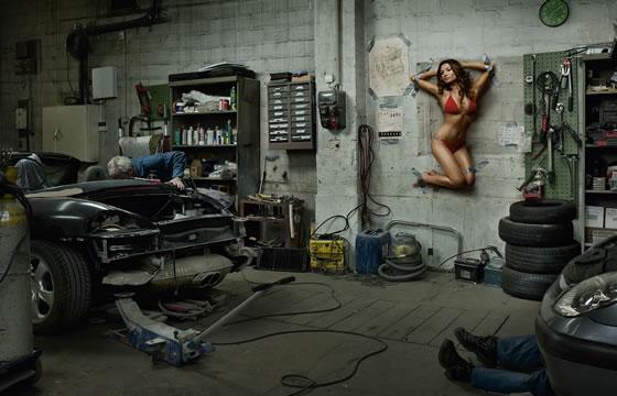 Fotos publicitárias de Jean Yves Lemoigne