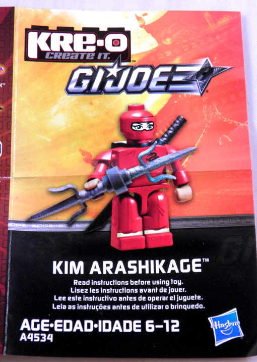 GI JOE KRE-O 2013 NEW Hasbro Kreon mini Figure Pack A4534 Series 2 SEALED Toy