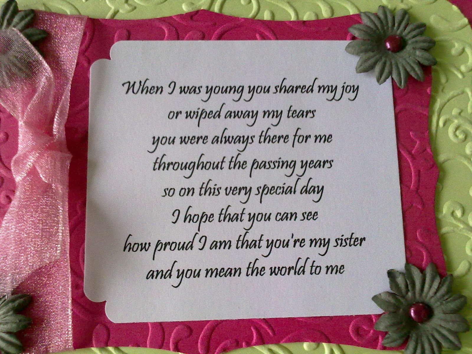 Paper Scissors and Glitter Special Card Aunties 80th – Daughter Birthday Verses for Cards