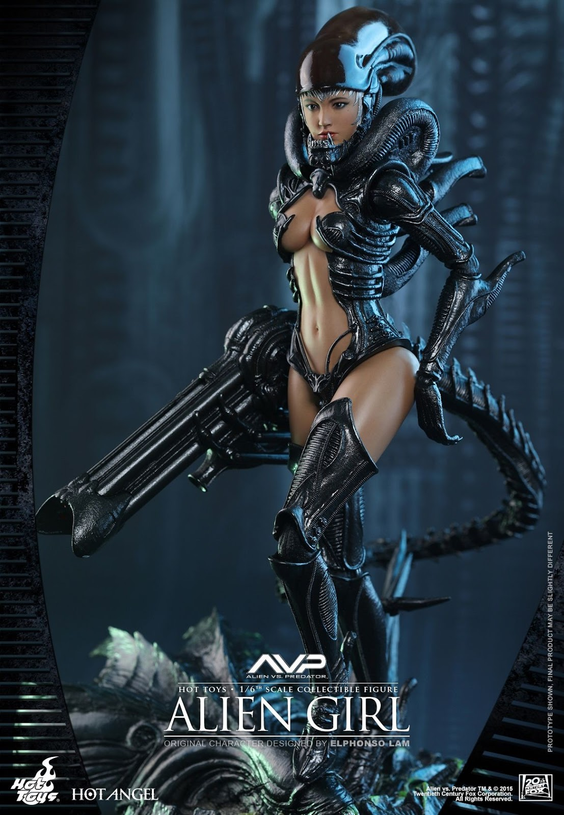 female action figure blog hot toys alien girl
