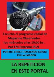 MAGAZINE OBSERVADOR RADIO