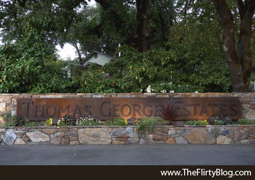 Entrance, Thomas George Estates