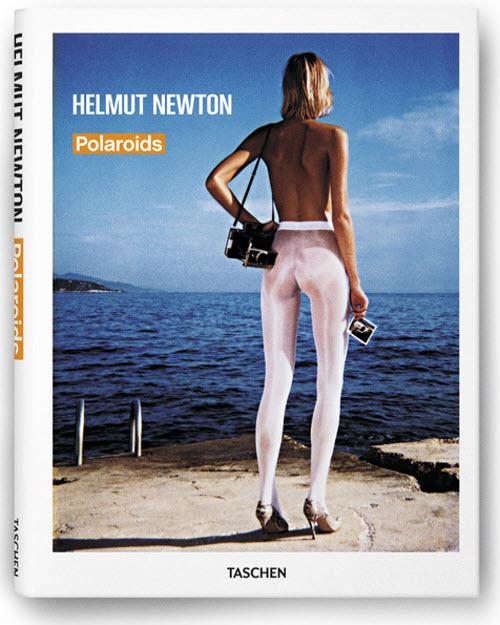 Portada de Polaroids (Taschen, 224 páginas) del famoso fotógrafo Helmut Newton
