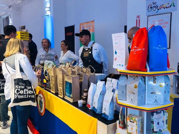 Café y panela de Boyacá entran al Área Metropolitana de New York