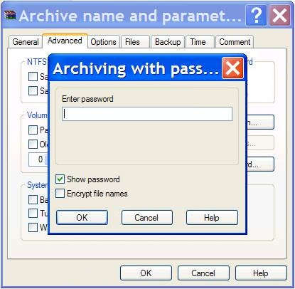 Cara membuat password RAR / ZIP