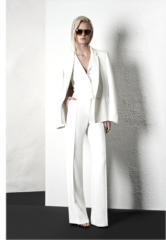Reiss white suit spring 2014 collection | how to wear white suit | outfit ideas
