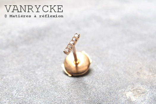 Boucle solo Vanrycke Mini-medellin or rose