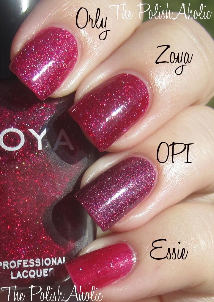 The PolishAholic: OPI, Zoya, Essie & China Glaze Winter/Holiday 2012 ...
