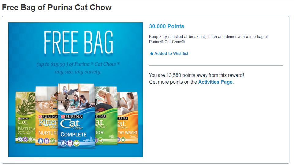 My Pet Perks Cat Chow