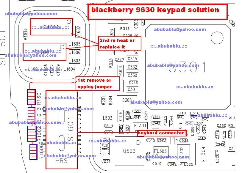 Blackberry 9630 Keypad Solution