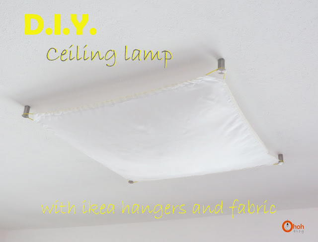DIY Ceiling lamp
