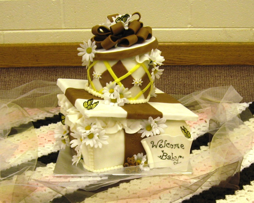 Cakeopolis: # 58 Carin\'s Baby Shower Cake