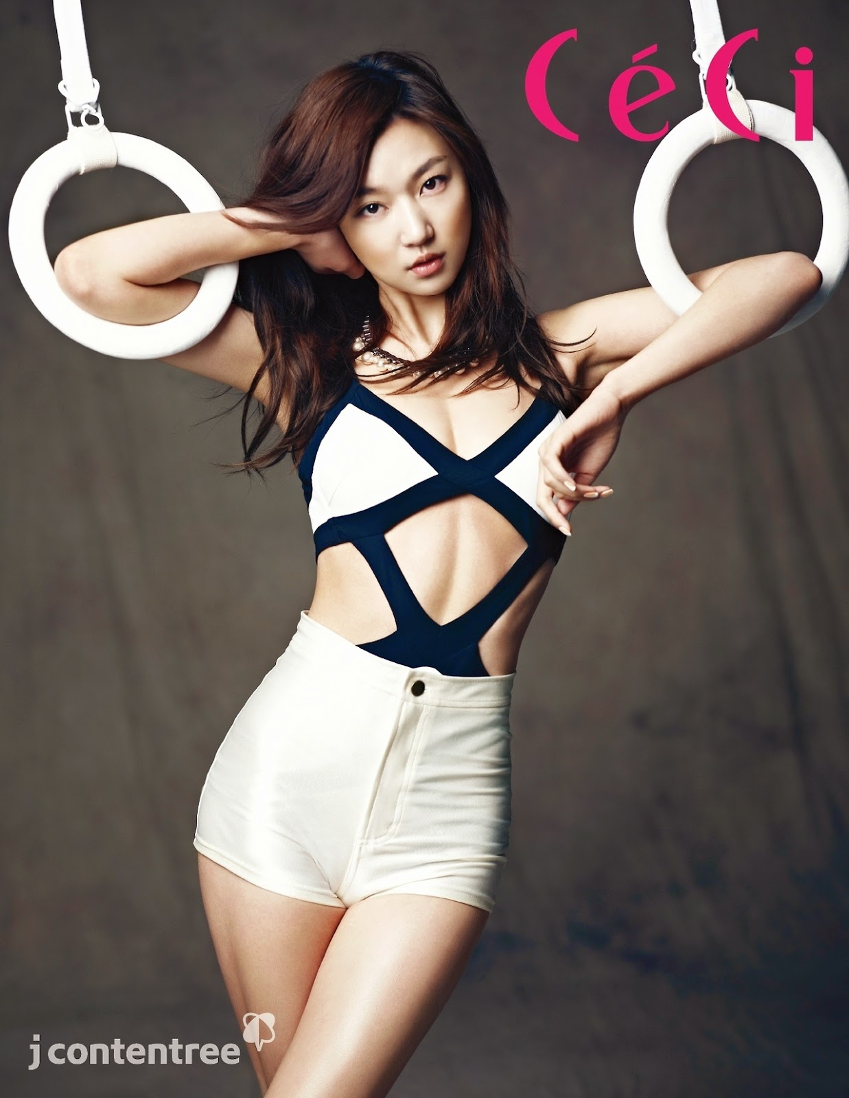 Ha Yun Joo - Ceci Magazine May Issue 2014
