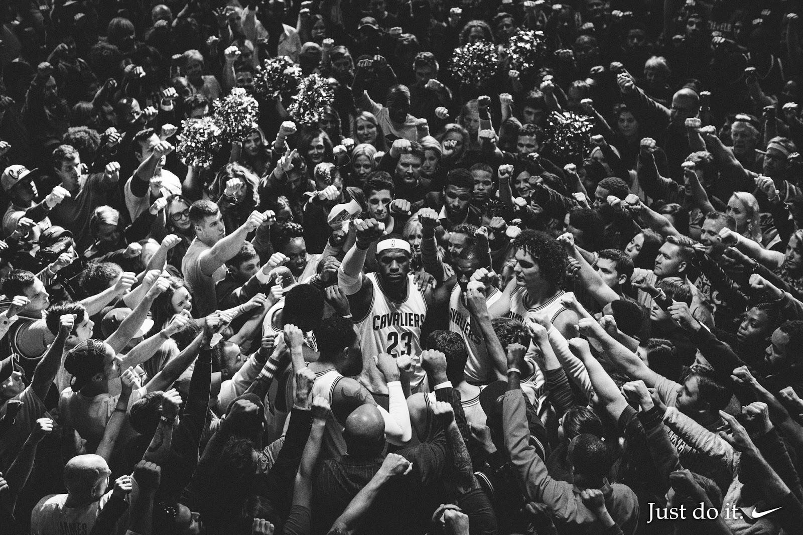 LeBron James Nike Commercial