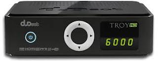 Atualizacao do receptor Duosat Troy HD V