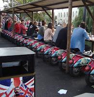 comer en moto camden market regent's canal london londres
