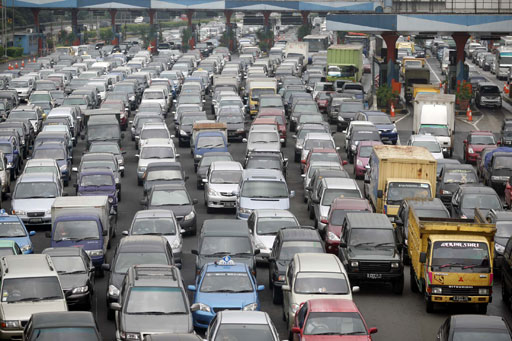 jakarta indonesia traffic - photo #27