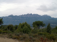 Montserrat des del Camí de la Serra