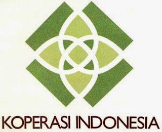 Logo atau lambang koperasi Indonesai baru