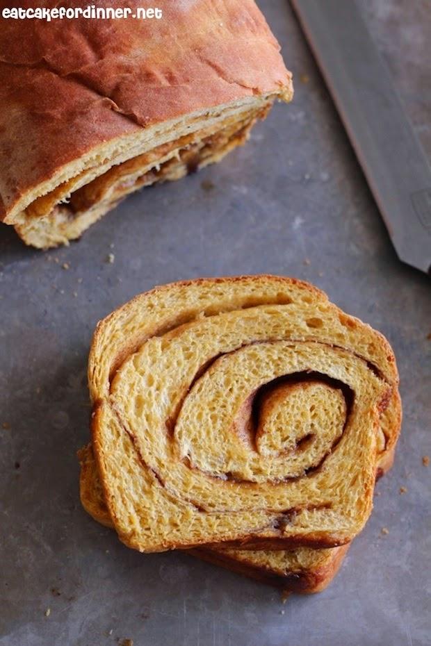 bread machine cinnamon swirl pumpkin bread