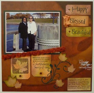 "Our Daily Bread designs ""Randi's Song"" Designer Gemiel Matthews"