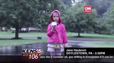 Wartawan TV termuda, berusia 5 tahun